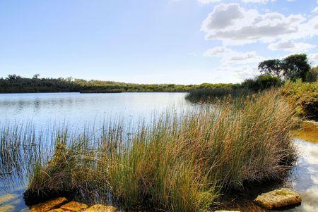 Seenlandschaft Lizenzfreie Bilder