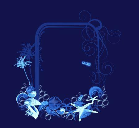 Frame Illustration illustration