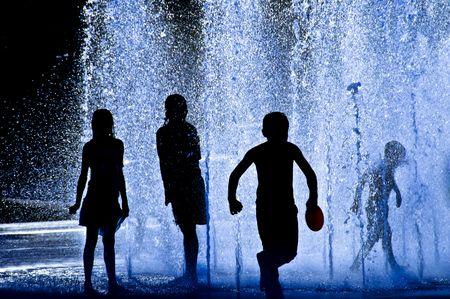 Children Silhouettes photo