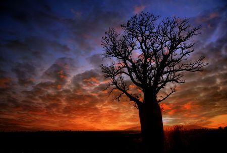 Sunset Landschaft