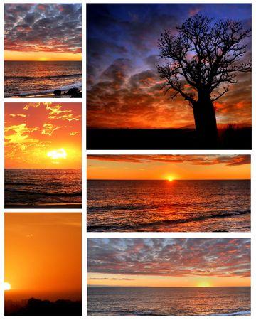 Sunset Collage photo