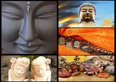 iluminados: Collage de Asia