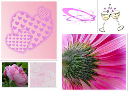 Valentine Collage Stock Photo - 7115467
