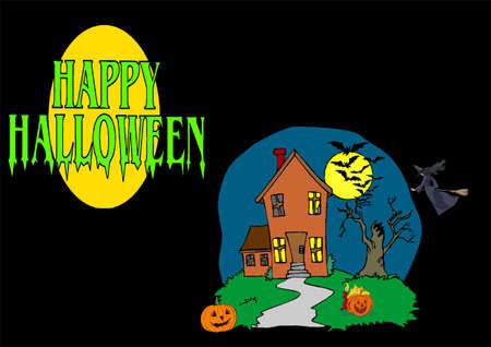 Halloween Illustration Stock Illustration - 7218363