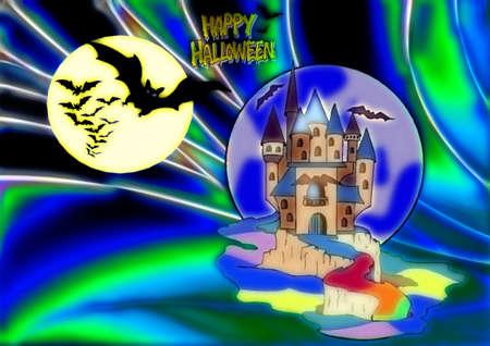 Halloween Illustration Stock Illustration - 7304239