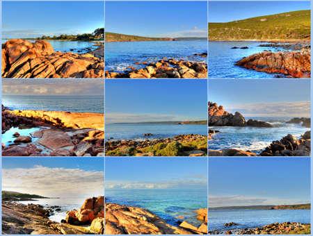 Coastline Collage photo