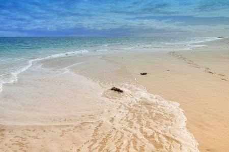 Beach-Landschaft