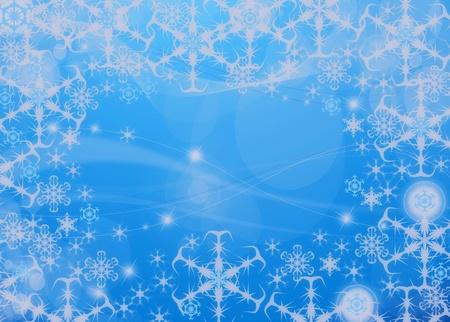 snoflake: Snowflake background