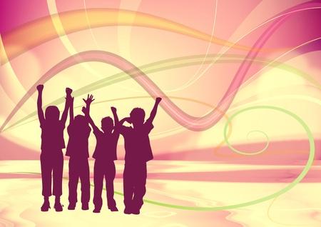 Happy Children Stock Photo - 8633543