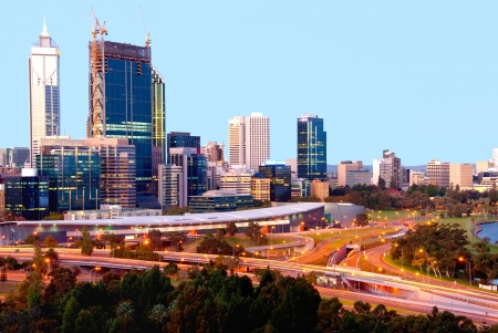 perth: Perth  Western Australia Stock Photo