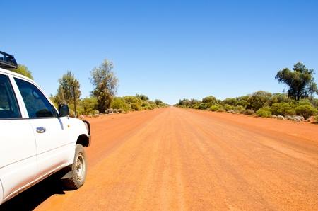 australie landschap: 4x4, avontuur, outback West-Australië, Stockfoto