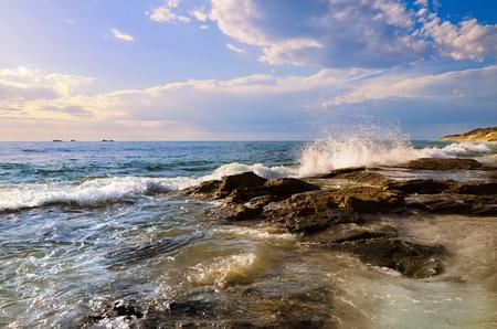 western slope: Coastline Stock Photo