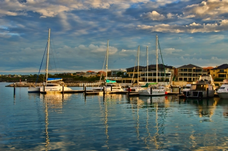 moorings: Mindarie Marina Perth Western Australia