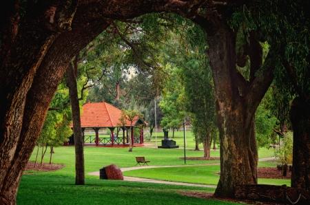 western australia: Kings Park Perth Western Australia Stock Photo