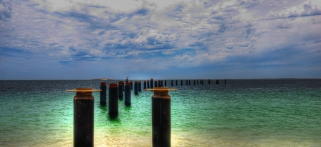 Old Pier ,Perth Western Australia photo
