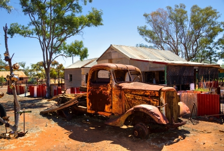 western australia: Gwalia, Gold mining Ghost Town Western Australia Stock Photo