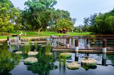 Kings Park Perth Western Australia Stock Photo