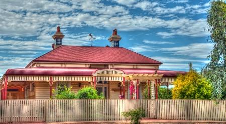 cottage fence: Australian Cottage