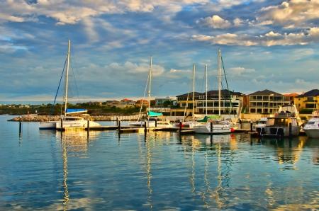 Mindarie marina Perth Western Australia