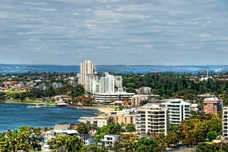 perth: South Perth Western Australia Stock Photo