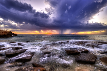 Beach sunset - Perth Western Australia photo