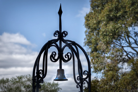 perth: Bell in Kings Park Perth WA Stock Photo