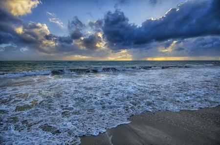perth: Beautiful Perth Sunset beach Stock Photo