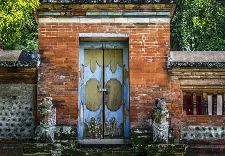 Doorway to a Temple in Bali Indonesia