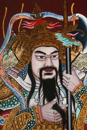 jarret: Dieu chinois - Tian Hock Keng Temple, Singapour.