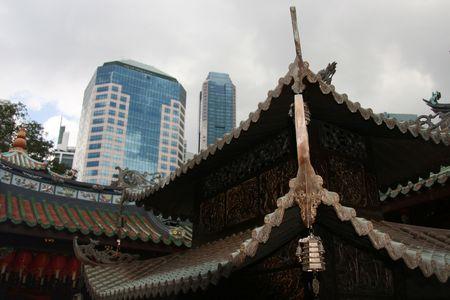 jarret: Temple Thian Hock Keng, Singapour