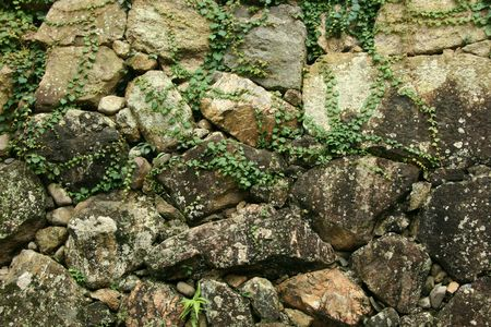 fortification: Rock Wall, Himeji Castle, Japan