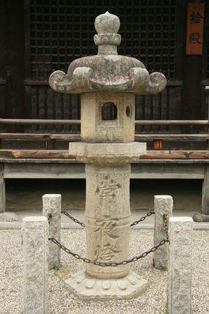 Lanterns - Horyuji Temple, Japan photo