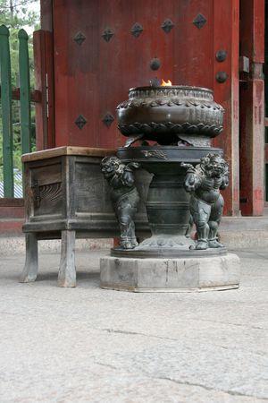 Todaiji Ancient Temple, Nara, Japan Stock Photo - 3570278