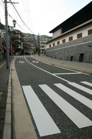 nagasaki: Road, Nagasaki City, Japan
