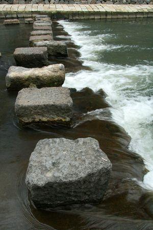 Stepping Stones, Nagasaki City, Japan photo