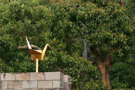 colomba della pace: Colomba d'Oro Pace - Parco della Pace, Nagasaki, Giappone