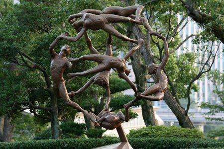 nagasaki: People Sculpture - Peace Park, Nagasaki, Japan