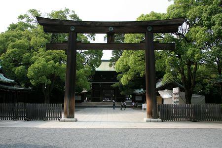 Gate - Meiji Shrine, Tokyo, Japan