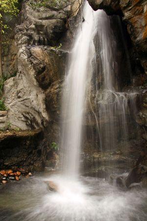Waterfall - Hong Kong Park, Hong Kong photo