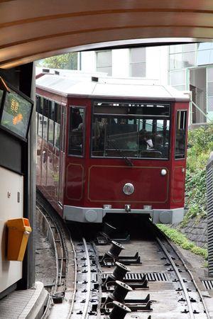 Peak Tram - Victoria Peak, Hong Kong, Asia