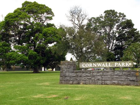 cornwall: Cornwall Park - Auckland, New Zealand Stock Photo