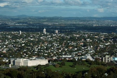 arial view: Arial View of Aukland City, New Zealand