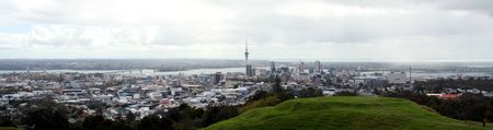 City Skyline - Mt Eden, Aukland,  New Zealand photo
