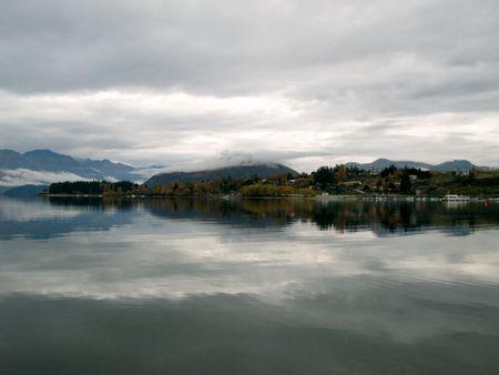 Lake Wanaka, New Zealand photo
