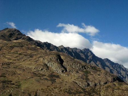 mountainous: Mountainous Landscape, New Zealand