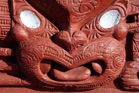 Maori Carving - Maori Culture in New Zealand photo