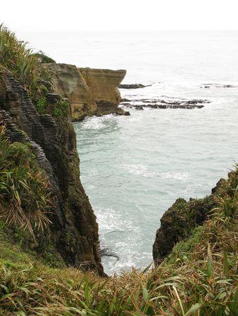 coast line: Pancake Rocks, New Zealand