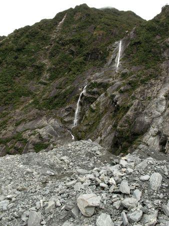 franz: Flowing Water - Franz Josef Glacier, New Zealand