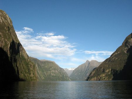 Te: Milford Sound, Te Wahipounamu, New Zealand