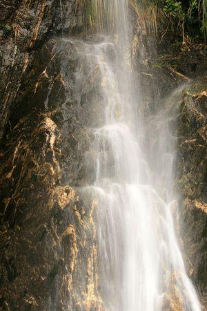 franz josef: Agua corriente - glaciar Franz Josef, Nueva Zelandia